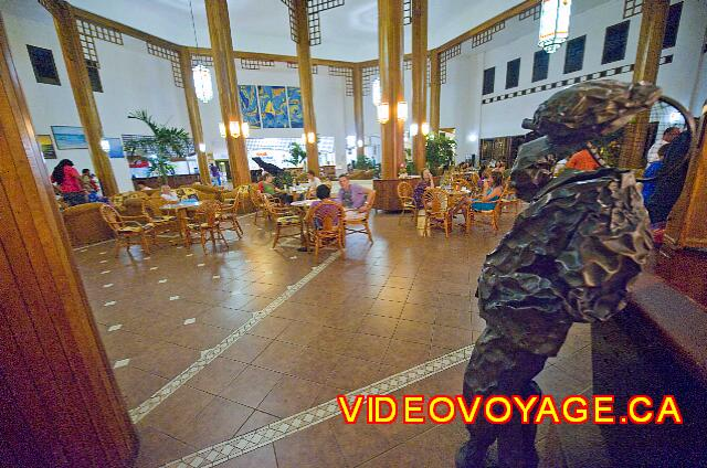 Cuba Varadero ROC Arenas Doradas The lobby bar is very popular at ...